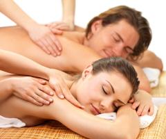Couple massage tube